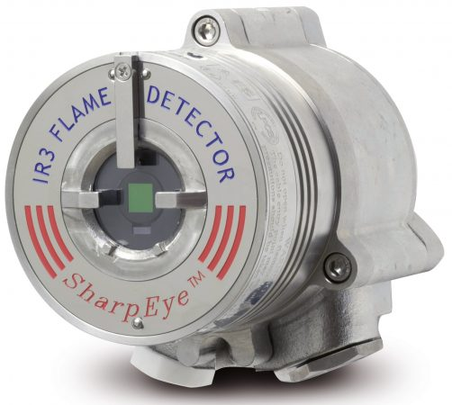 Flammedetektor Flamme detektor Flame detector IR Infra Red Spectrex 40/40 SharpEye ATEX Forhandler Norge Distributor Norway