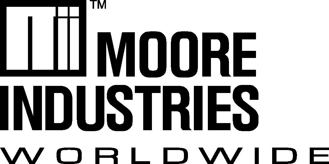 Signal converter omformer transmitter Moore Industries Logo