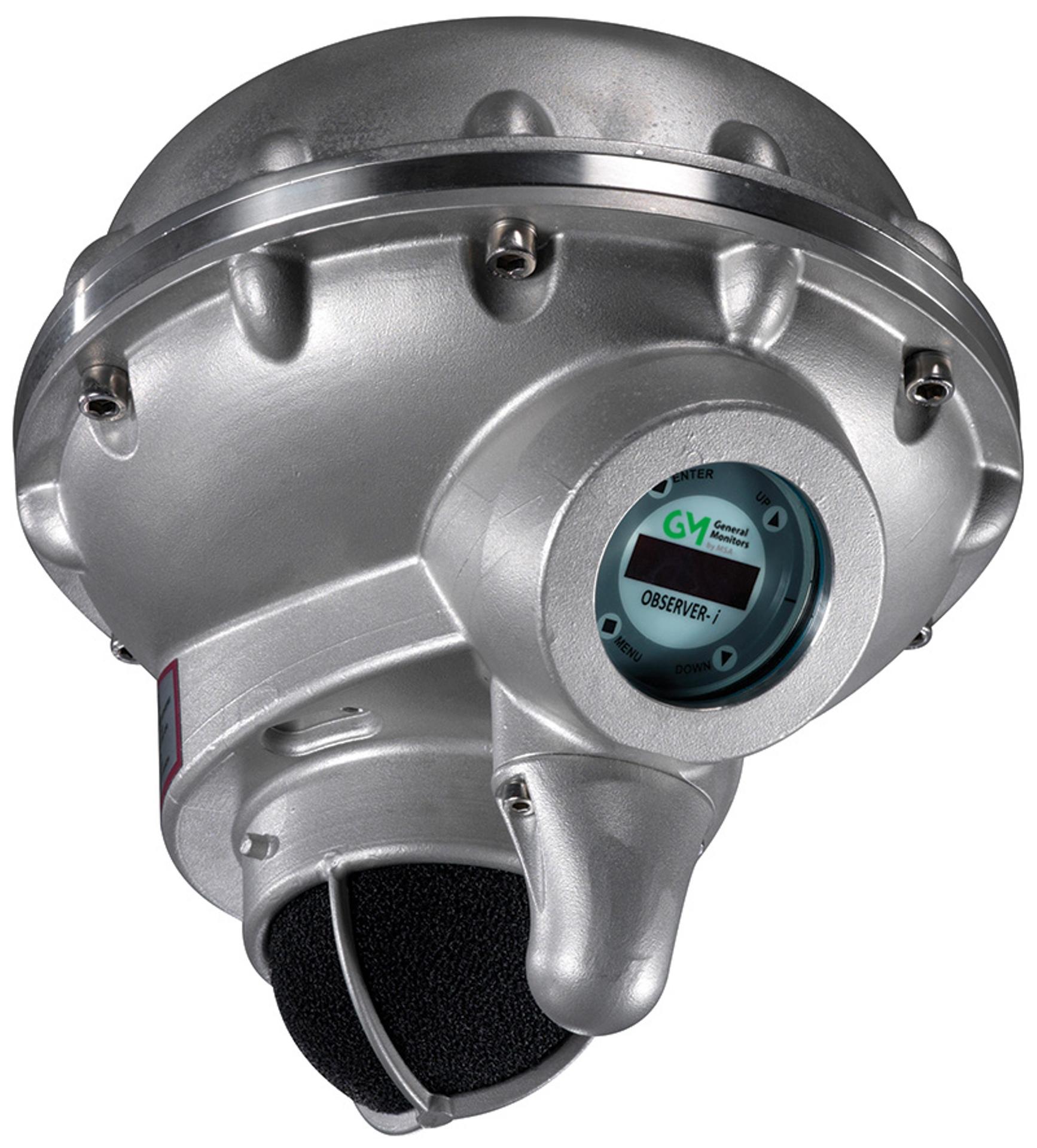 Observer-i Gassdetektor Gas leak detector akustisk gasslekkasje gassmler gassalarm natural sniffer ultrasonic acoustic MSA Gassonic