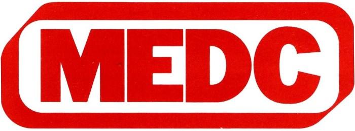 MEDC Manuell melder brann flamme alarm akustisk Manual call point fire beacon sounder Flammedetektor Eaton Cooper MEDC Logo