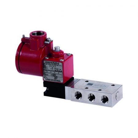 magnetventil pneumatisk ventil solenoid valve Ex kontrollventiler Fremhevet