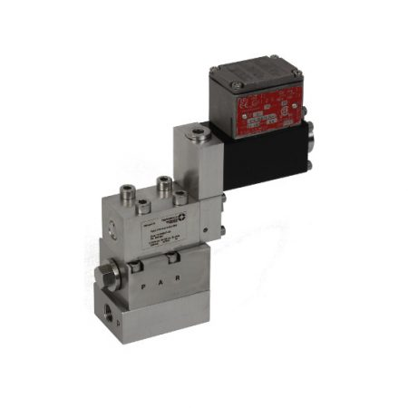 magnetventil solenoid operated ventiler hydrauliske valve hydraulic direct operated acting Ex Tiefenbach Fremhevet