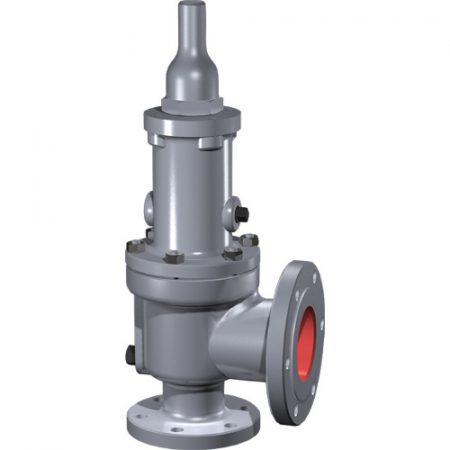 sikkerhetsventiler pressure safety relief valve SRV valve trykk Dresser Consolidated Baker Hughes Model 1900 Fremhevet bilde