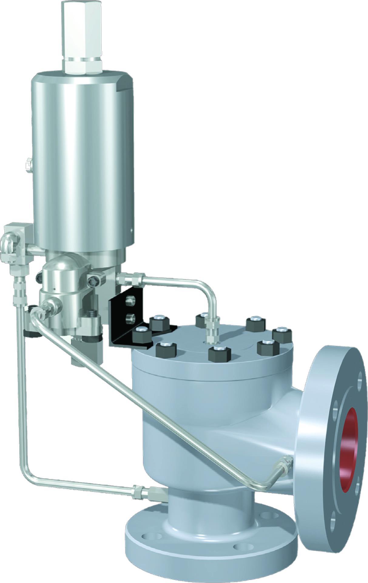 sikkerhetsventiler pressure safety relief valve SRV pilot valve trykk Dresser Consolidated Baker Hughes Model 3900
