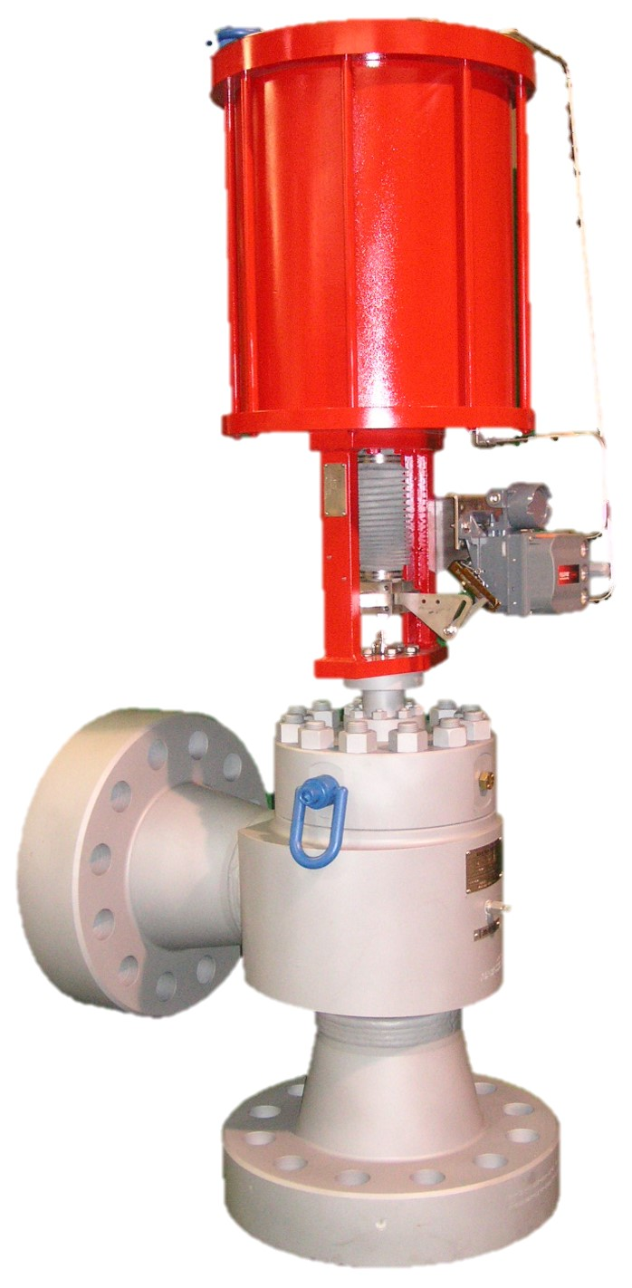 Choke valve chokeventil axial angle subsea wellhead N-Line inline