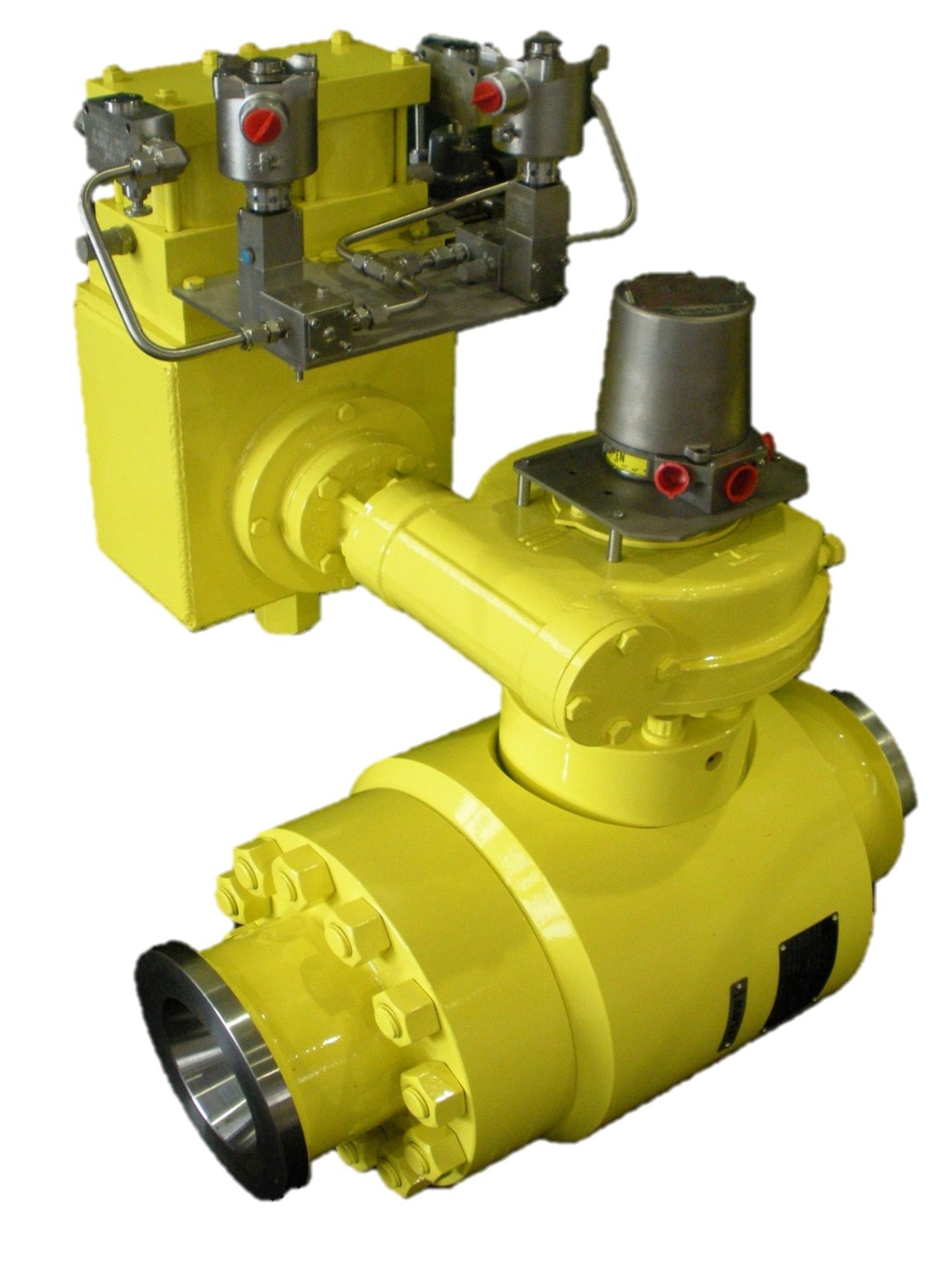 chokeventil valve axial angle flow wellhead subsea N-Line inline