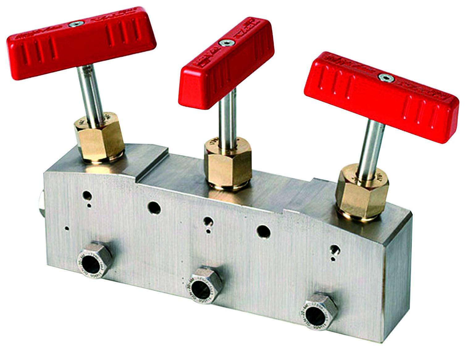 Nåleventiler needle valve høytrykk high pressure DBB Block Bleed kobling Nova Swiss instrument ventiler high pressure systems fitting adapter connector