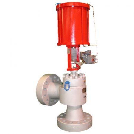 choke ventil valve chokeventil axial angle subsea wellhead N-Line inline