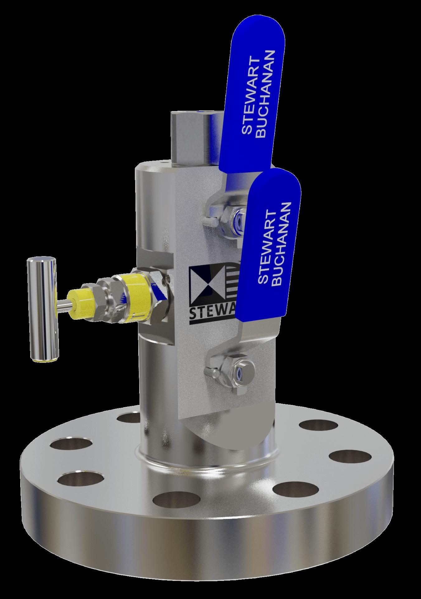 DBB double block and bleed valves Manifold Ball valves kuleventil needle valve nåleventil Stewart Buchanan