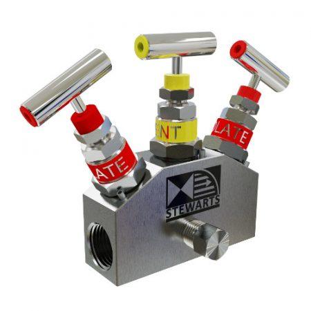 Manifold Nåleventil DBB double block and bleed valves Ball valves kuleventil Forhandler distributr Norway Norge