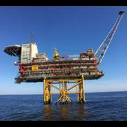 Brann gass detektor fire gas detector offshore plattform Equinor Gudrun