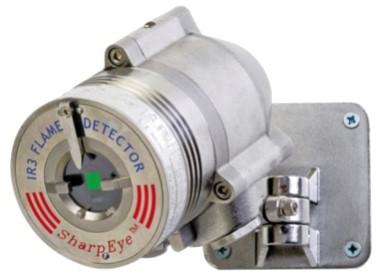 Brann gass detektor fire gas detector offshore plattform flamme 40-40IR Spectrex