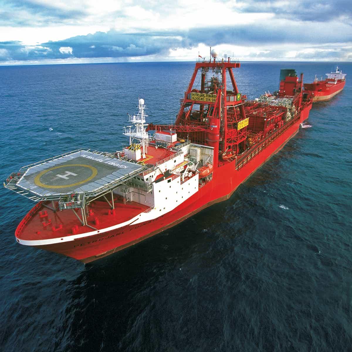 Brannalarm system firealarm detectors flamme detektor offshore FPSO FOINAVEN
