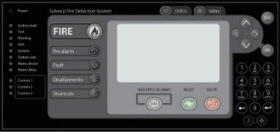 Brannalarm system firealarm detector flamme detektor offshore FPSO platform Panel
