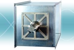 Gassdetektor ventilasjonskanal luftinntak offshore HVAC Cross duct gas detection