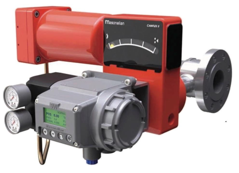 SVi3 digital positioner ventilstiller Masoneilan Dresser Camflex valve